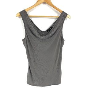 White House Black Market WHBM Cowl Neck Tank 3677